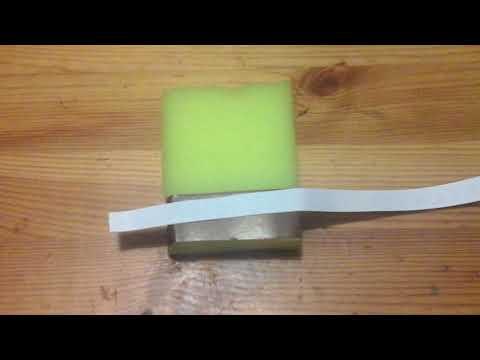 Как сделать губка боба из губки