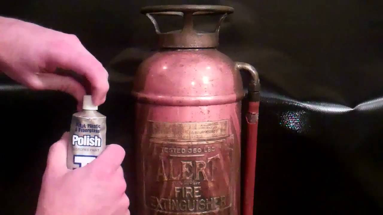 Antique Fire Extinguisher Restoration Youtube