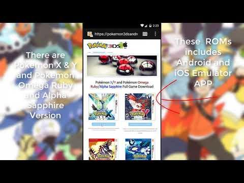Pokemon XY Android APK - Pokemon X & Y Download OBB