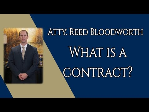 What is a Contract?