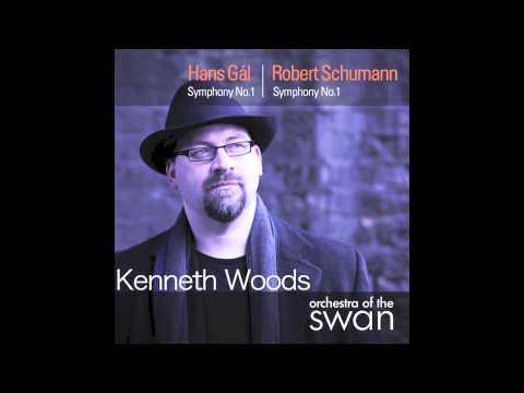 Hans Gál Symphony no. 1, Mvt III Elegie, Kenneth Woods- Orchestra of the Swan