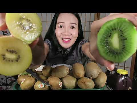 Ăn kiwi xanh kiwi vàng ngon quên lối về chua thì tê tái, cuộc sống Mỹ