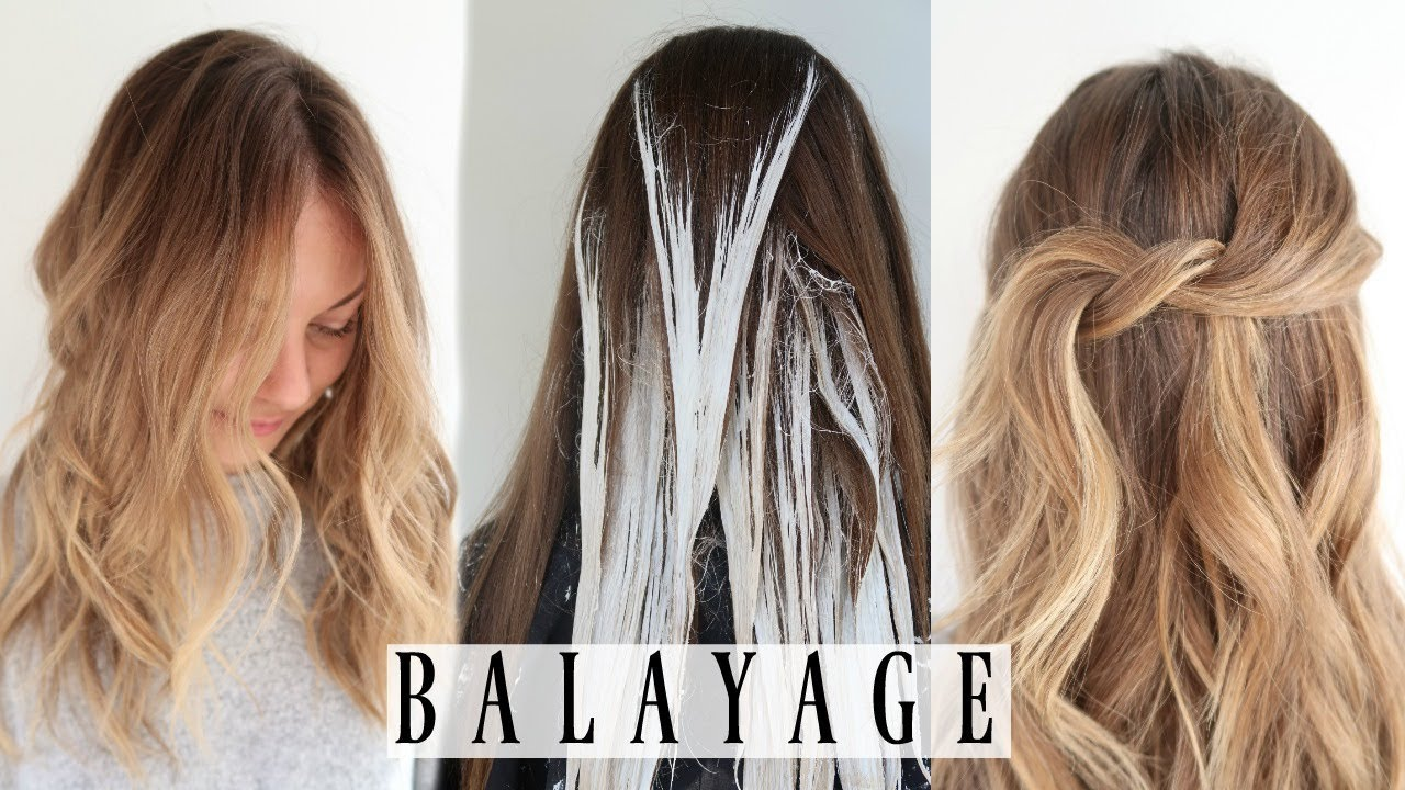 Favorite Way To Balayage Hair Ft Framar