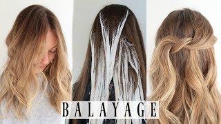 FAVORITE WAY TO BALAYAGE HAIR FT. FRAMAR