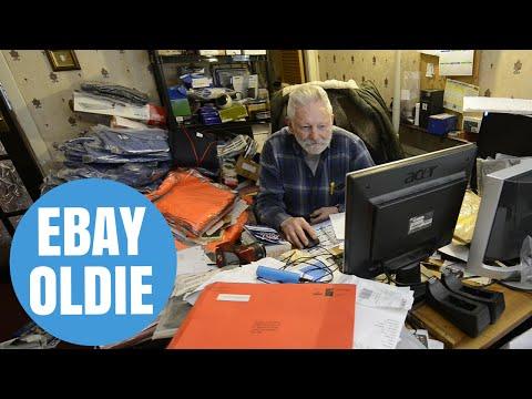 Britain's oldest eBay seller celebrating racking up 100,000 sales