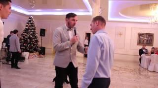 Конкурс на свадьбе Караоке+танцы 26.12.15 arthall.od.ua