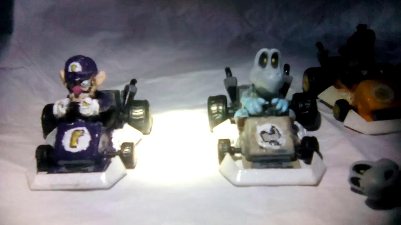 Mario Kart Ds Figures Waluigi Daisy R O B And Dry Bones