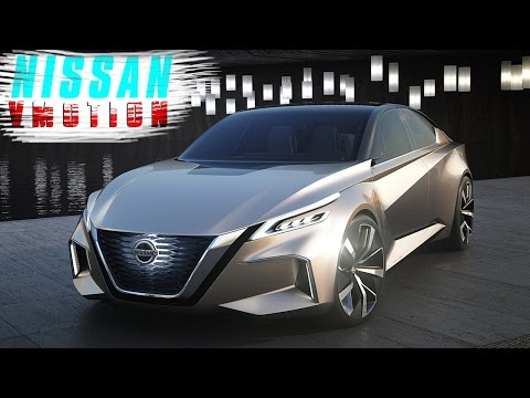 [HOT NEWS] 2017 Nissan Vmotion 2.0 Concept