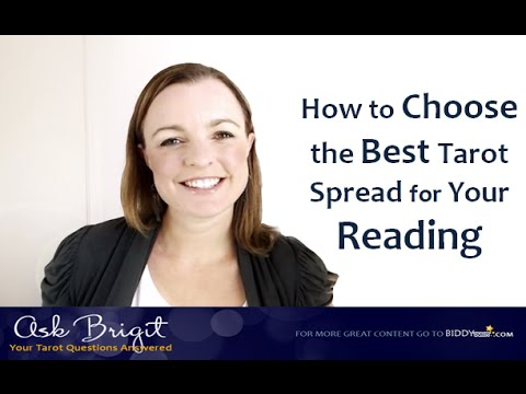 Ask Brigit: How to Choose the Best Tarot Spread for Your