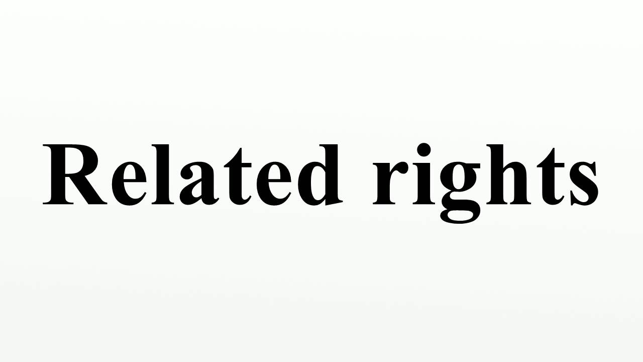 Related rights - YouTube