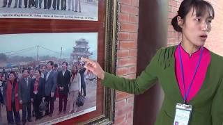 Cùng hướng dẫn viên xinh đẹp thăm Chùa Bái Đính Ninh Bình