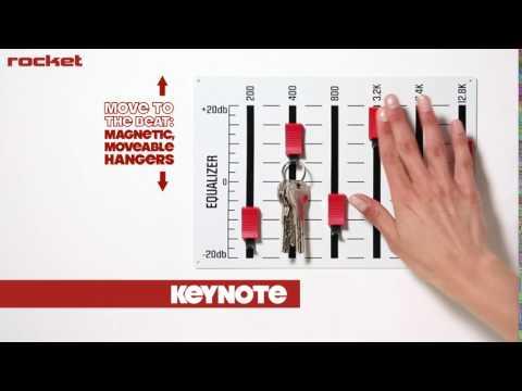 Cool Musical Gift - Key Hanger | Holder