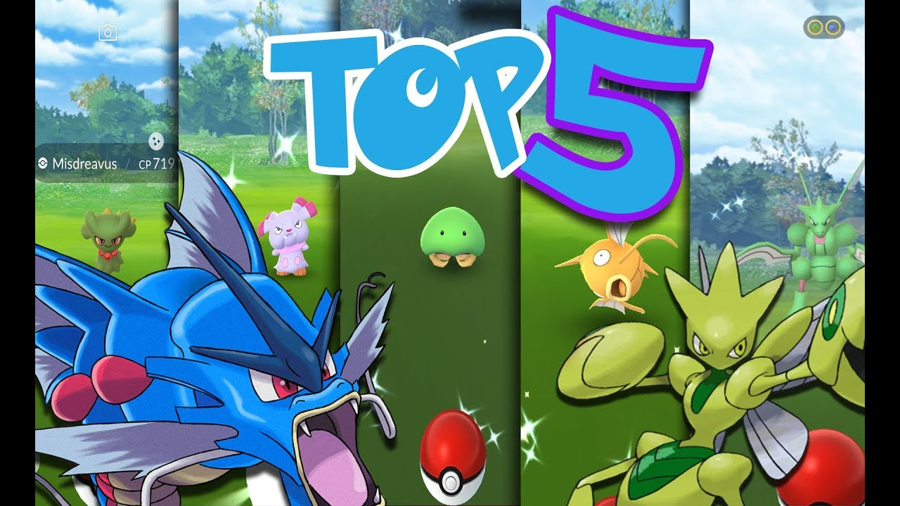 Top 5 Best Shiny Nest Coordinates in Pokemon GO | July 2019 | Magikarp,  Scyther, and More!