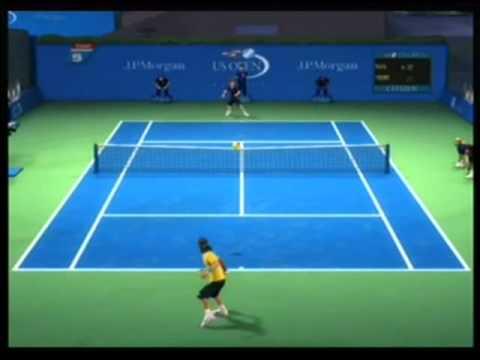 Grand Slam Tennis-Rafael Nadal vs. Roger Federer, part 1