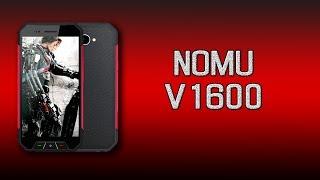 Обзор защищённого смартфона Nomu V1600 (Oinom V1600)!