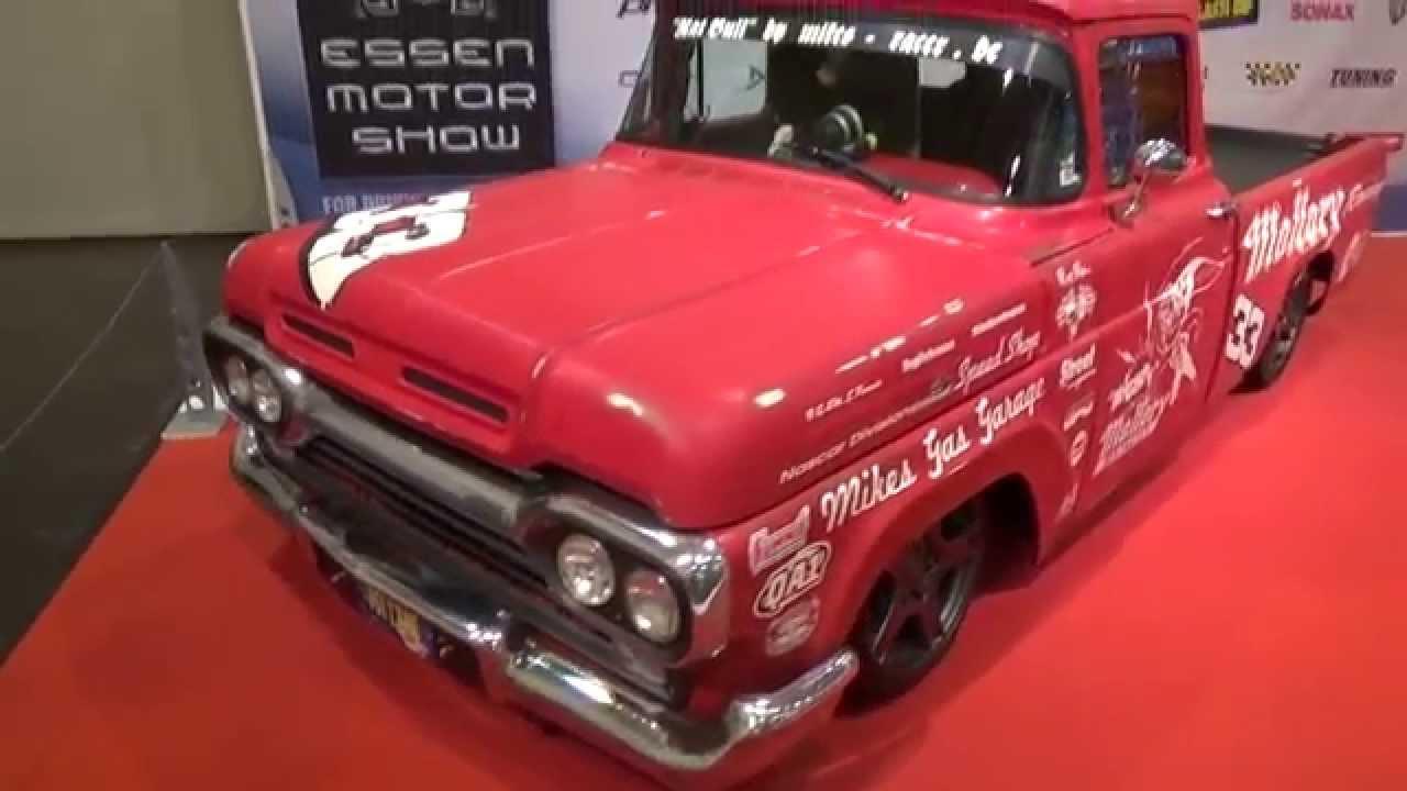 1960 Ford F100 Nascar Pickup 400 hp - 2014 Essen Motor Show