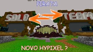 Minecraft: NOVO SERVIDOR PIRATA TOTALMENTE IGUAL O HYPIXEL! (DEVY NETWORK)