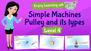 Simple Machines–Pulley and its types | Grade-4,5 | Science | TutWay |