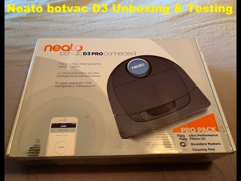 Neato Botvac Connected D3 Review & Tests - Robot Vacuum