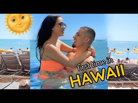 OUR FIRST TIME IN HAWAII.. bali was cancelled! lol