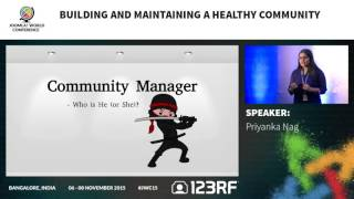 JWC15 - Building and Maintaining a Healthy Community