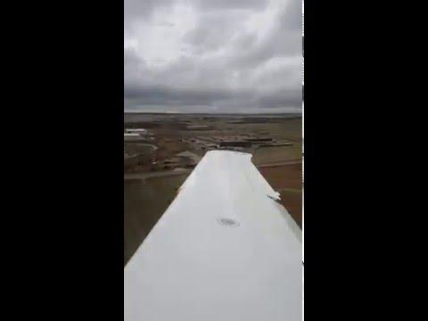 Cayman senior project flight takeoff