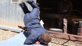 Michael Myers falling over Compilation | Michael vs Jason: Evil Emerges