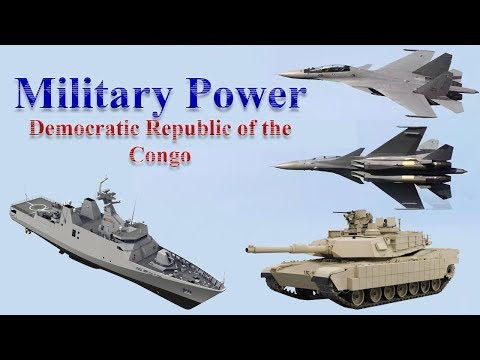Democretic Republic of the Congo Military Power 2017
