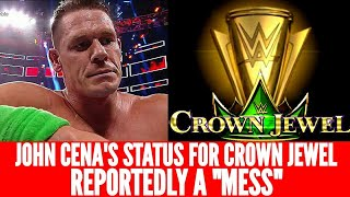 John Cena's Status For WWE Crown Jewel Reportedly A