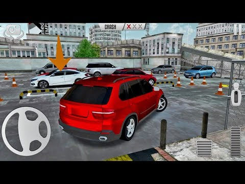City Car Parking Game #4 BMW X5 UNLOCKED - Android gameplay
