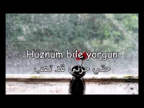أغنية من أجمل الأغاني التركية مترجمة Toygar Işikli- Gecenin Hüznü- Arabic Lyrics