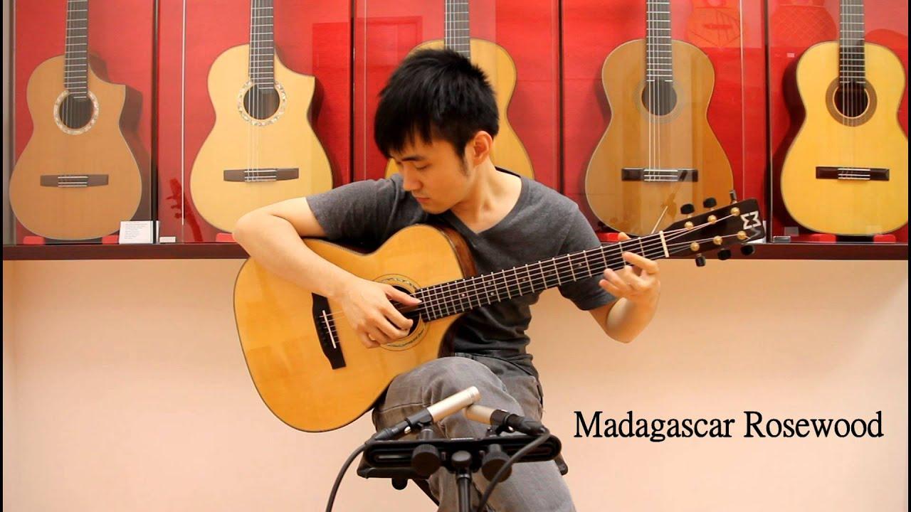 pare 3 guitars indian madagascar brazilia with loop