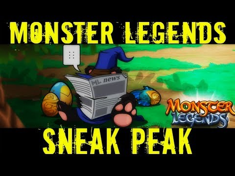 AMAZING MONSTER LEGENDS SNEAK PEAK | Master of Paths | Whisper of the Witch Island | Quest Monster