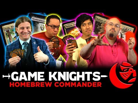 Homebrew Commander w/ The Professor and Wedge l Game Knights #18 l Magic the Gathering Gameplay