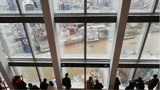 Visiting The View From The Shard In London