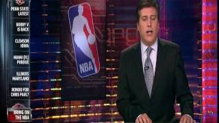 November 29, 2011 - ESPN - Wade, Lebron Comment on NBA Lockout Ending