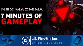 Nex Machina - Full Level Gameplay