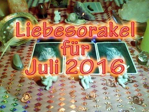 Liebesorakel für Juli 2016