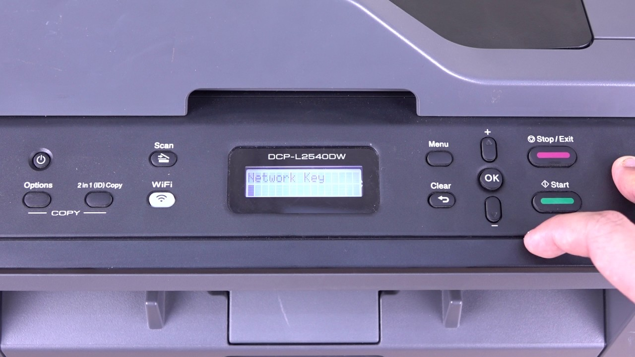 Brother DCP-L2540DW Wi-Fi connection setting guide 網絡連接程序