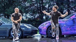 Juca y su Porsche VS La Galactungas (qué auto es más rápido?) 1/4 de milla