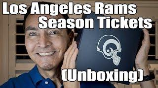 Los Angeles Rams Season Tickets (Unboxing)