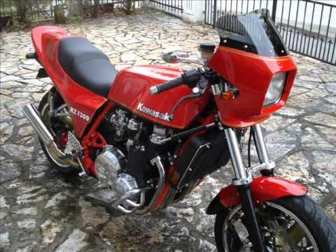 kz1300 cafe racer z1300 - youtube
