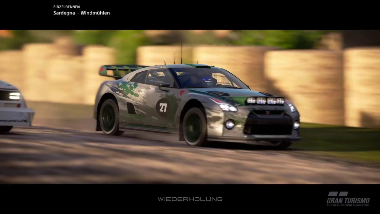 nissan gt-r gr.b - rally racing fun - youtube
