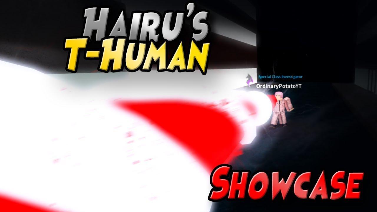 Ro-Ghoul]- FULL T-HUMAN SHOWCASE!(OBLITERATING LASER!) - Video - ViLOOK
