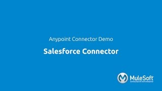 Salesforce Connector Demo: Integration with Mule