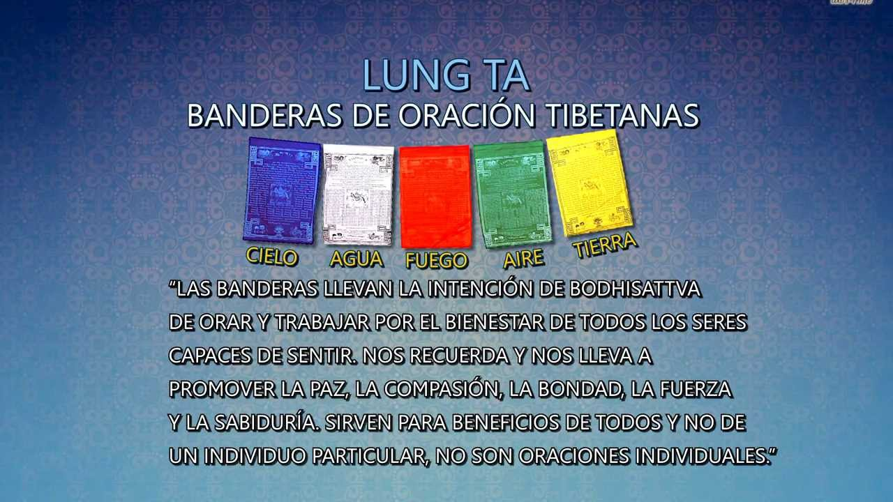 Banderas de Oración Tibetanas - YouTube