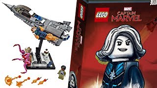 LEGO Captain Marvel SDCC 2019 - You thought con exclusives were DONE? 😒