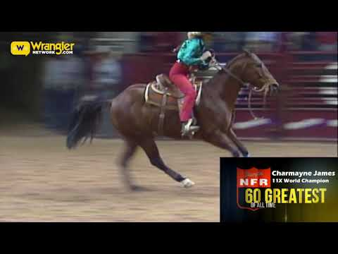 NFR 60 Greatest of All Time- Charmayne James Day 32