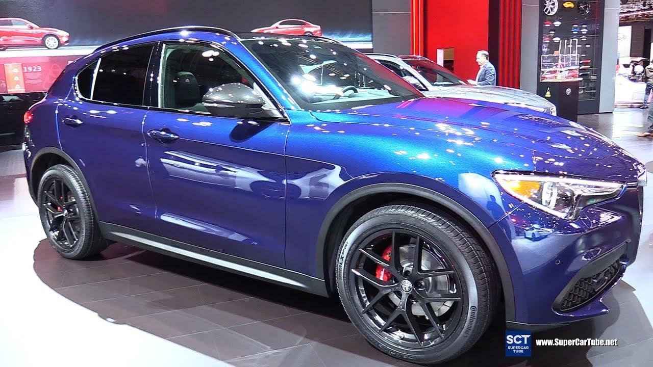 2018 Alfa Romeo Stelvio Q4 Black Edition Exterior And Interior