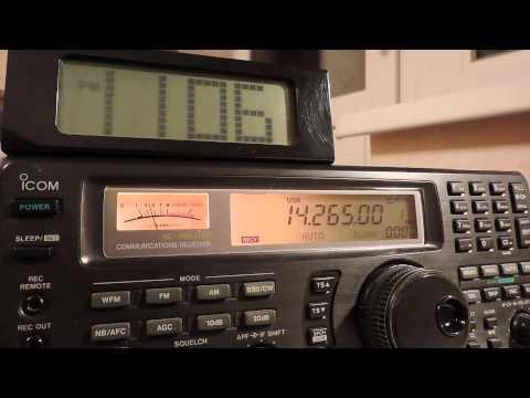 14265kHz,Ham Radio,OX3KQ(Greenland)